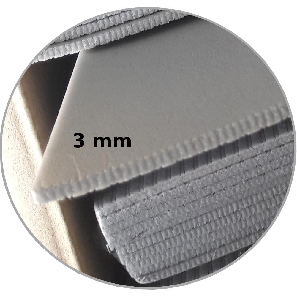 5 95 m trittschalld mmung 3mm oder 5 5mm d mmung boden laminat parkett xps grau ebay. Black Bedroom Furniture Sets. Home Design Ideas