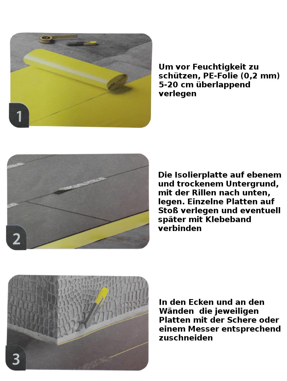 5 95 m trittschalld mmung 3mm oder 5 5mm d mmung boden for Boden direct